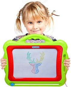 CoolToys Magnetic Color Drawing Board - Green