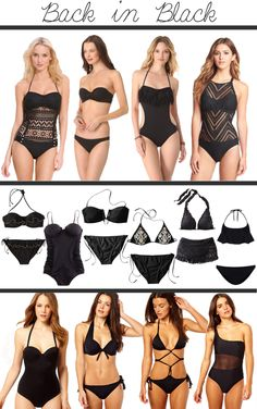 Swimsuits swimsuits for everyone...I like the idea of offering several pieces and allowing the customer/wearer to 'design' their own look.