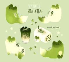 More Vanilla Matcha. Happy Holidays! - n*kim