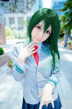 SAIDA(SAIDA) Tsuyu Asui Cosplay Photo - Cure WorldCosplay