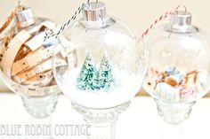 The coolest DIY Christmas ornaments