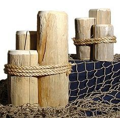 nautical dock posts - Google Search