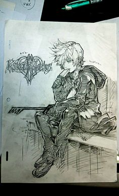 This is so sad ald awersome! Roxas <3 Kingdom Hearts II