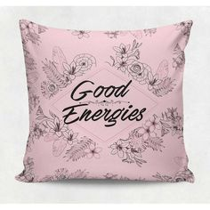 Almofada decorativa em tecido estampado - GOOD ENERGIES – 45cm X 45cm Decorsoft -Almofadas com estampas lindas. Aqui você encontra! Acompanhe a DecorSoft nas redes sociais e não perca nossas promoções de lançamento! https://www.facebook.com/decorsoft/ https://www.instagram.com/decor_soft/ @decor_soft  #decorsoft #decor #almofadas #decoração #adorable