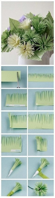 Flower Paper #diy #craft #paper