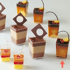 ELEGANT DESSERT CUPS - DISPOSABLE