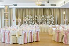 Pink wedding decoration www.myday.sk