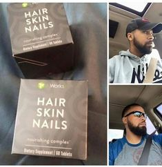 FELLAS!!! Check out his results!! He's been using our Hair Skin Nails supplement for TWO WEEKS and look at the fullness in his beard. #itworks #HSN #beards - http://ift.tt/1HQJd81