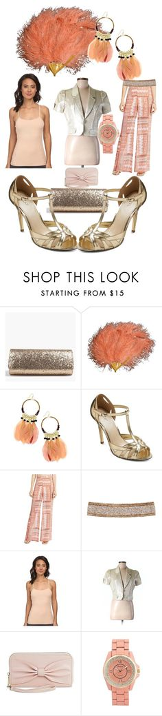 """""""Peach opera"""" by lerp ❤ liked on Polyvore featuring Boohoo, Thalia Sodi, Tevolio, BCBGeneration, Cocobelle, OnGossamer, Larok and Mossimo Supply Co."""
