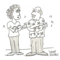 """""""When the going gets tough – The tough get ukuleles."""""""