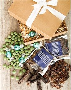 Biltong: Spicy and Sweet Gift Box! Biltong, Birthday Treats, Shop Ideas, St Patricks Day, Craft Beer, Gifts For Him, Spicy, Gift Wrapping, Box