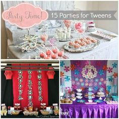 Let's Get This Party Started: 15 Party Ideas for Tweens