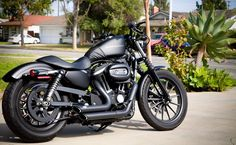 Harley Davidson Sportster Iron 883. One day baby.