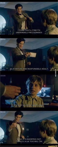 Doctor Who: A Christmas Carol. Why I love Doctor Who, guys. Tardis, Fandoms Unite, Geronimo, Dr Who, Sherlock, Funny Photos, Funny Images, Quotes Images, Images Photos