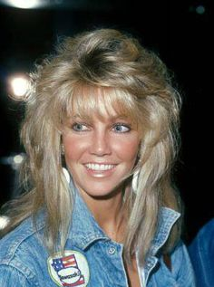 Vintage Hairstyles With Bangs Best 20 Heather locklear ideas - Hairstyles Haircuts, Vintage Hairstyles, Pretty Hairstyles, 1980s Hair, Heather Locklear, Haircuts For Long Hair, Tips Belleza, Layered Hair, Up Girl