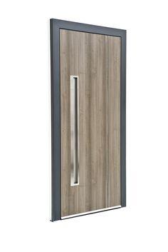 Sternstunden Eingangstüre POLARIS 9   Aluminiumtüre Außen Mit Holzoptik.  Besuchen Sie Unseren Schauraum In Gramastetten