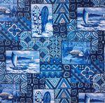 Tapa Honu Blue