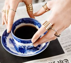 Could you pass Layering 101? We talk ring stacking on our blog!