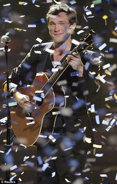 American Idol winner Phillip Phillips. He deserved to win.