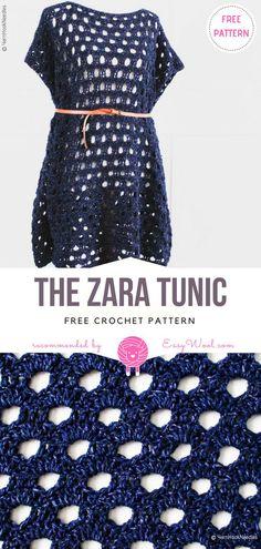 The Zara Tunic Free Crochet Pattern on easywool.com #crochetfreepatternsforlady #crochetfreepatternforvest #crochetfreepatternfortunic #crochethat #crochetsunhat #freecrochetpatternsforsunhat #crochetfreepatternsforlady #crochetfreepatternforvest #crochetfreepatternfortunic #crochetcover #swimcover #crochethat #crochetsunhat #freecrochetpatternsforsunhat #crochetfreepatternsforcardigan #crochetcardigan #crochetfreepatternsforponcho #crochetfreepatternsfortunic
