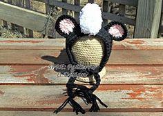 Ravelry: Little Stinker Skunk Bonnet pattern by SPRE Patterns & Design $5.49