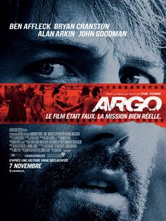 Argo est un film de Ben Affleck avec Ben Affleck, Bryan Cranston. Synopsis : Le 4 novembre 1979, au summum de la révolution iranienne, des militants envahissent l'ambassade américaine de Téhéran, et prennent 52 Américains en ot