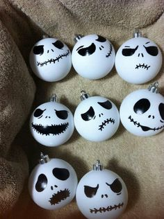 2014 nightmare before christmas ornaments inspired by jack handmade nightmare before christmas decorations halloween