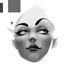 http://vectorboom.com/load/tutorials/illustration/charm/5-1-0-198 Illustrator Portrait Tutorial