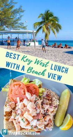 The best restaurant in Key West for an amazing lunch and it happens to be right on the beach! The view is fantastic and the food is always perfect. Our family eats here 3-4 times each year on our annual Key West vacation. Don't miss it!  #KeyWest #Florida #FloridaKeys #Restaurant #thingstodo #BestKeyWest #KeyWestBeach #KeyWestFood #Restaurants