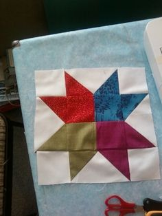 Sawtooth Star Square- DONE