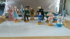 Vintage 1987-88 Loew's Wizard of Oz Lot Of 12 Figures RARE includes Munchkins!   Collectibles, Decorative Collectibles, Figurines   eBay!