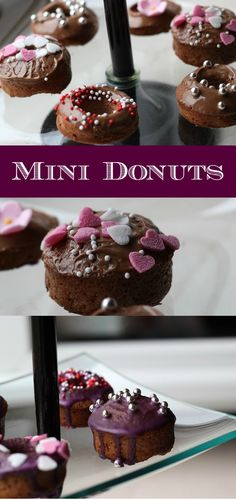 Rezept für selbstgemachte Mini Donuts ohne Donutmaker | Easy Recipe for cute Donuts - Homemade http://www.the-inspiring-life.com/2014/12/was-soll-ich-blo-kochenbacken-teil-6.html