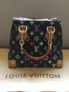 gucci bags on ebay. louis vuitton audra multicolor noir black monogram top handle bag gucci bags on ebay
