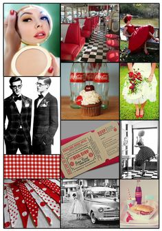 1950's American Diner Wedding