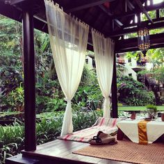 Wouldn't you rather be reading a book at the Anantara Bophut Resort and Spa in #Thailand? Photo courtesy of timeinthisworld on Instagram.