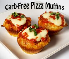 These Carb-Free Pizza Muffins are great to have for a quick snack or to satisfy a pizza craving without all the guilt.