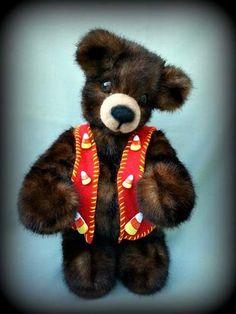 Candy Corn - REDUCED by Bear Hugs by Sandra Marie