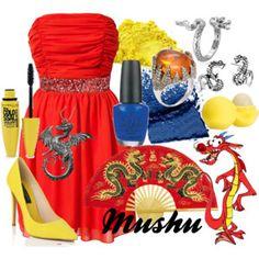 Disney Mulan theme wedding ideas