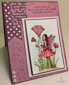 stampin up fairy celebration stamp set; stampin up; fairy celebration; card making; crafting; Christine's Stamping Spot