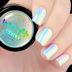Whats Up Nails - Aurora Pigment #beautynails