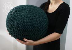 #crochet #pouf  #owoceszycia
