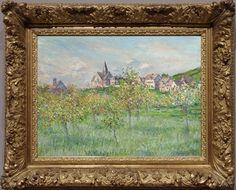 Oscar-Claude Monet (1840-1926) Printemps à Giverny, effet d'après-midi, 1885 (private collection)