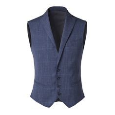 Tonello Man AW 2015-2016 Waistcoat with lapel in Prince of Wales cotton with printed yarn. Discover the new collection on www.tonello.net