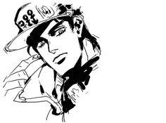 Jotaro Bizarre Art, Jojo Bizarre, Jojo's Bizarre Adventure, Jotaro Kujo, Old Anime, Weird World, One Punch Man, Me Me Me Anime, Cool Artwork