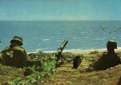 German soldiers on the island of Crete. -