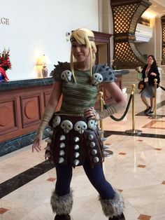 San Diego Comic-Con 2015 Cosplay - Astrid from How to Train Your Dragon