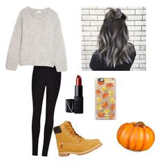 """""""Fall"""" by jennasurprenal on Polyvore featuring Improvements, Casetify, Winser London, Chloé, Timberland and NARS Cosmetics"""