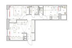 Apartament modern de 52 mp amenajat pentru o familie cu 2 copii- Inspiratie in amenajarea casei - www.povesteacasei.ro