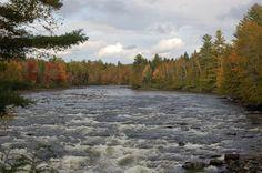 Kennebec River near Moosehead Lake Maine