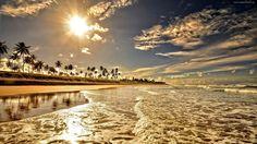 Plaża, Słońce, Niebo